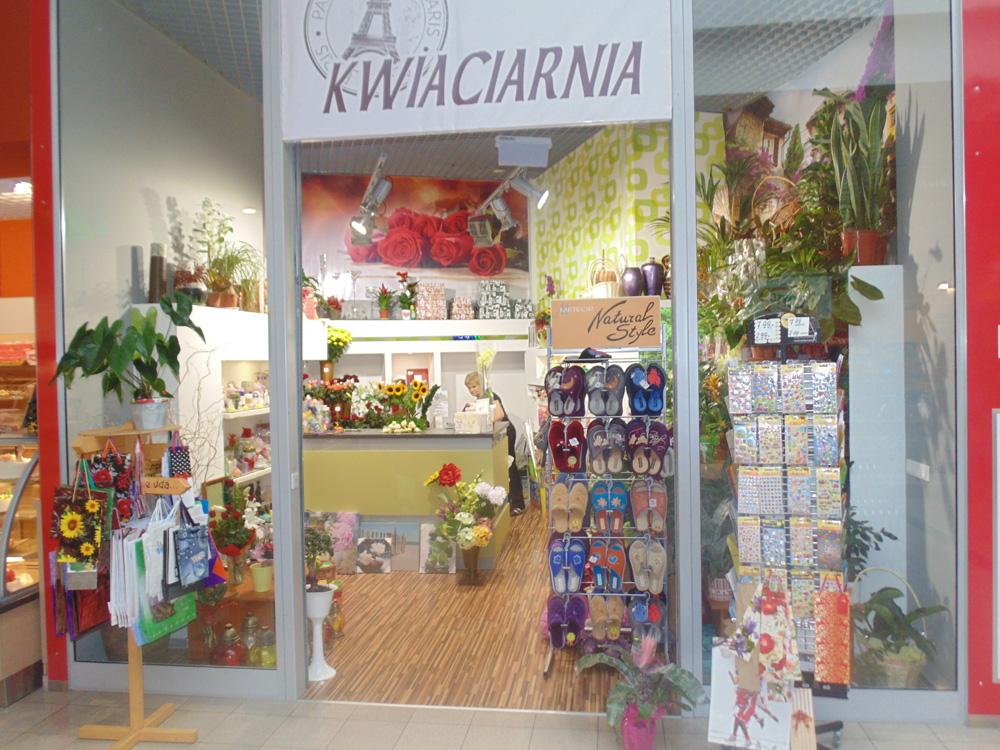 Kwiaciarnia - Galeria Sandecja